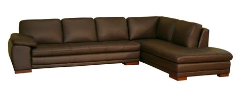Brown Sectional Couches by Brown Leather Sectional Sofa Feel The Home