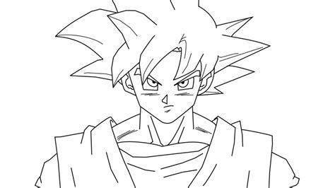 Goku God In Battle Of Z Lineart By Al3x796 On Deviantart Z Battle Of Gods Coloring Pages