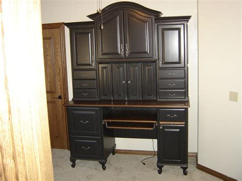 Computer Armoire by Custom Computer Armoire By Parkers Custom Hardwoods Inc