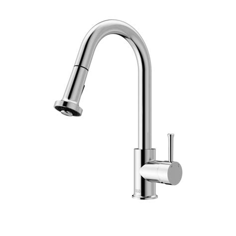 Vigo Kitchen Faucet Reviews by Vigo Single Handle Pull Out Sprayer Kitchen Faucet In