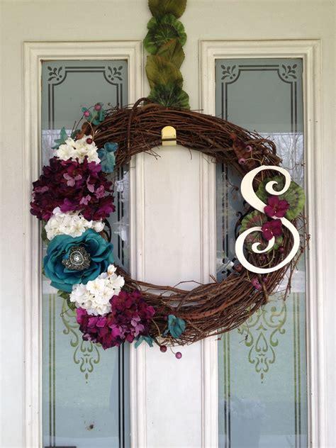 diy wreath     front door love diy