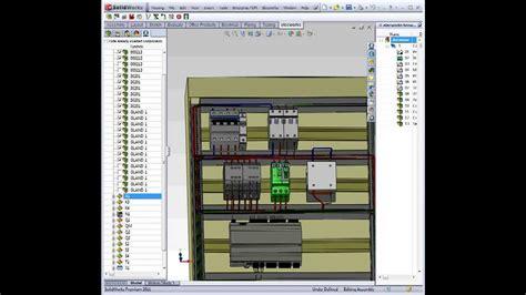 logiciel armoire electrique elecworks c 226 blage automatique de composant 3d dans une