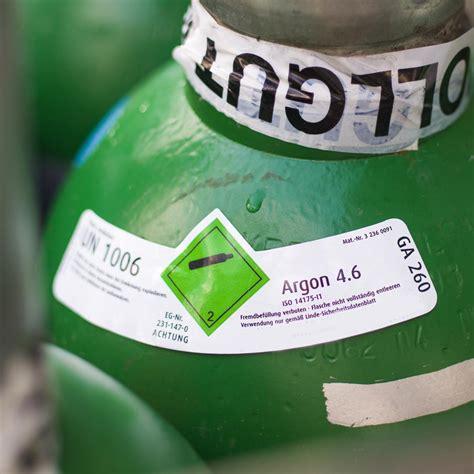 Aufkleber Von Flaschen Lösen by Argon 4 6 Reinargon 99 996 20 Liter Stahlflasche