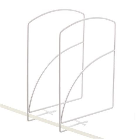 Closet Shelf Dividers by Lynk Solid Shelf Dividers The Container Store