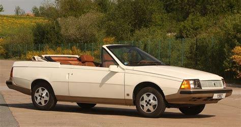 renault fuego convertible renault fuego cabriolet prototype destin 233 au march 233 us et