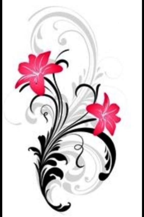 floral scroll design floral and scroll design scrolls