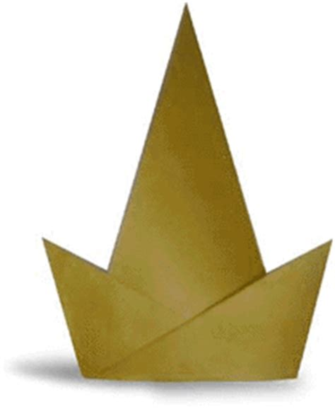 Origami Birthday Hat - origami hat origami paper origami guide