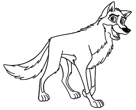 balto coloring pages printable coloring home