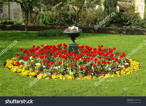 how to start a flower bed flower bed in a formal garden stock photo 44383735 shutterstock