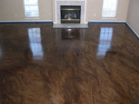 Concrete Floor Ideas Indoors 25 Best Ideas About Indoor Concrete Stain On Stained Concrete Driveway Stained