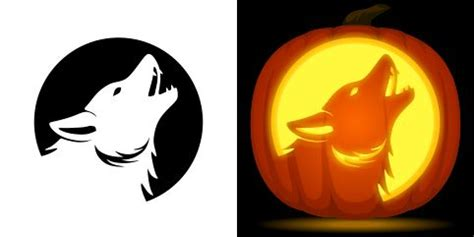 wolf pumpkin template 1000 ideas about pumpkin carving stencils free on