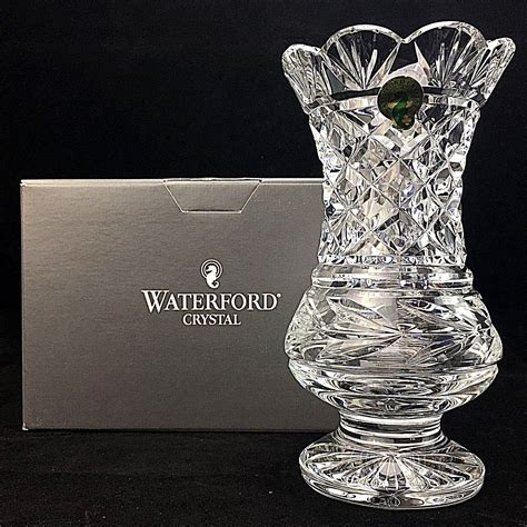 antique abp cut glass crystal water carafe decanter vase