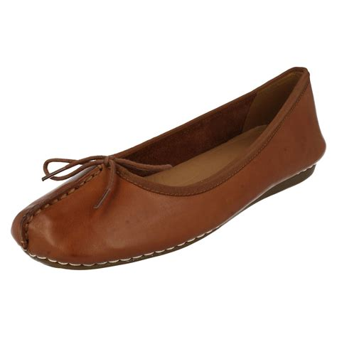 Comfort Flats by Clarks Comfort Everyday Flats Freckle Ebay