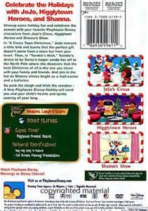 playhouse disney holiday dvd 2005 dvd empire