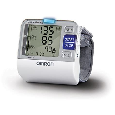 best blood pressure monitors 2018 wrist arm for