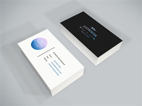 name card design mockup freebie business card psd mockup by graphberry dribbble