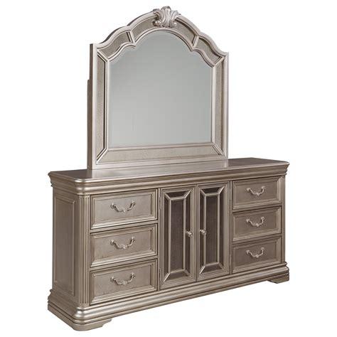 signature design  ashley birlanny dresser  mirror panels bedroom mirror del sol