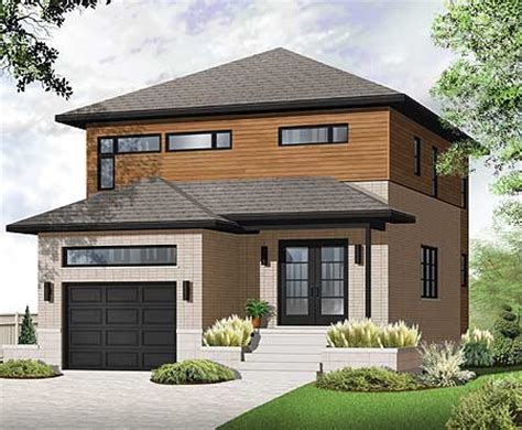 3 floor contemporary narrow home design a taste in heaven modern look for narrow lot 22306dr 2nd floor master