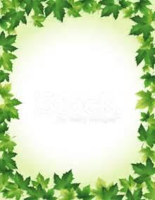 Green leaf border stock photos freeimages com
