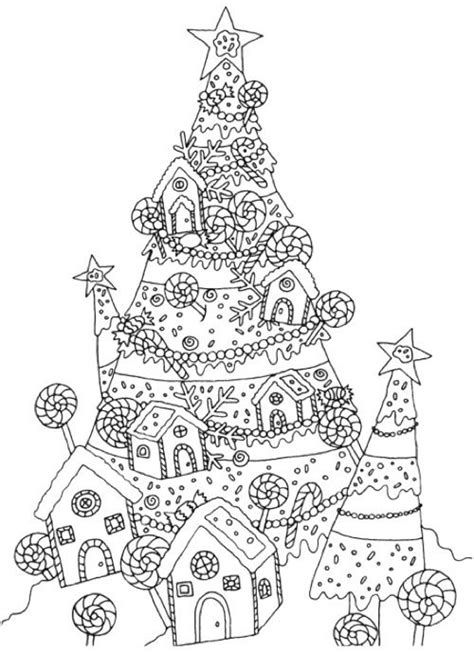 hard christmas tree coloring page hard christmas tree drawing merry christmas happy new
