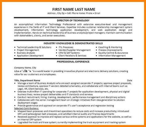 Configuration Manager Sle Resume by Itil Configuration Manager Resume Contemporary Resume Ideas Www Namanasa