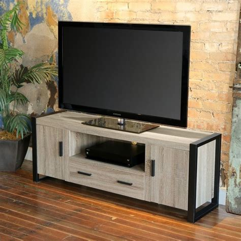 Walker Awnings Reviews Walker Edison 60 Quot Urban Blend Tv Stand In Ash Grey And
