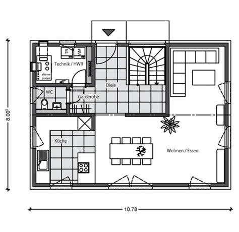 haus 9 x 10 meter massivhaus mit satteldach beipielplanung 2 jetzthaus