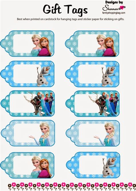 printable frozen favor tags welcome to memespp com