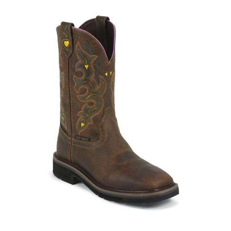 boot barn work boots justin original work s safety toe work boots