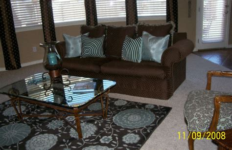 brown and blue living room decorating ideas information about rate my space questions for hgtv hgtv