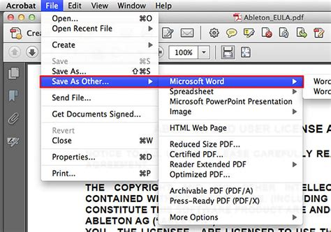 convert pdf to word adobe how to convert pdf to word on mac the always up to date guide