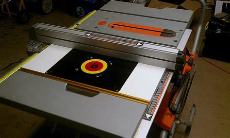 table saw with router ridgid table saw with router table tablesaw