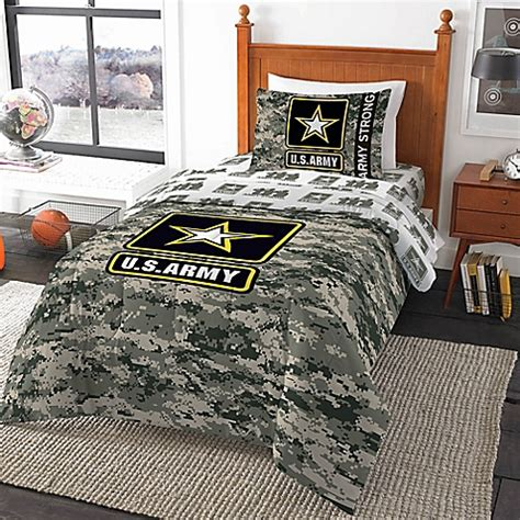 U S Army Camo Twin Comforter Bed Bath Beyond