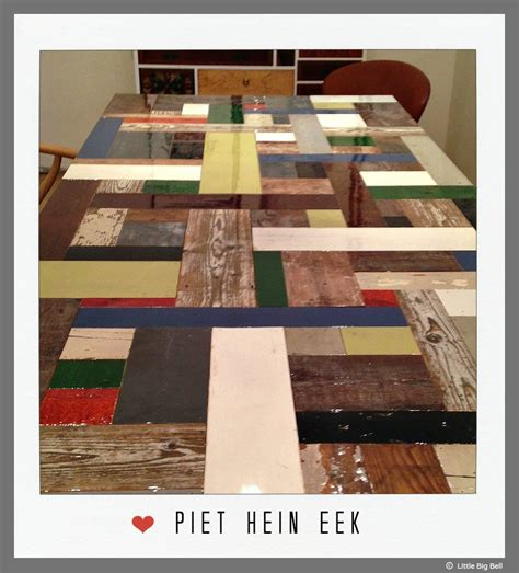Home Interiors Kids Littlebigbell Piet Hein Eek Table Little Big Bell