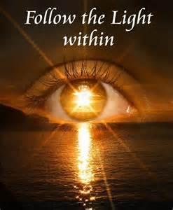 follow the light within seeking spirit