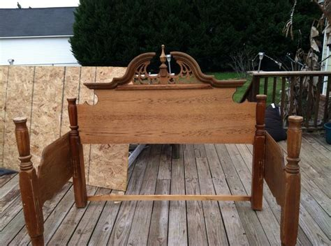 bench made from old bed frame an outdoor bench made from an old queen bed frame hometalk