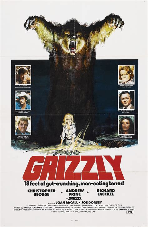 grizzly 1976 full cast crew imdb let s watch modern monster movies