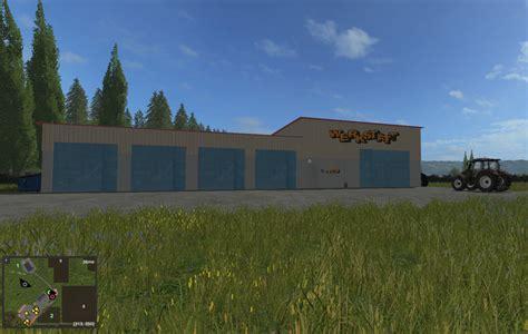 ls 17 werkstatt workshop v1 ge ls17 farming simulator 2017 17 ls mod