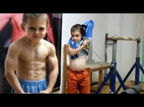 Imagenes De Jovenes Fuertes | increible los ni 241 os mas jovenes y fuertes del mundo youtube