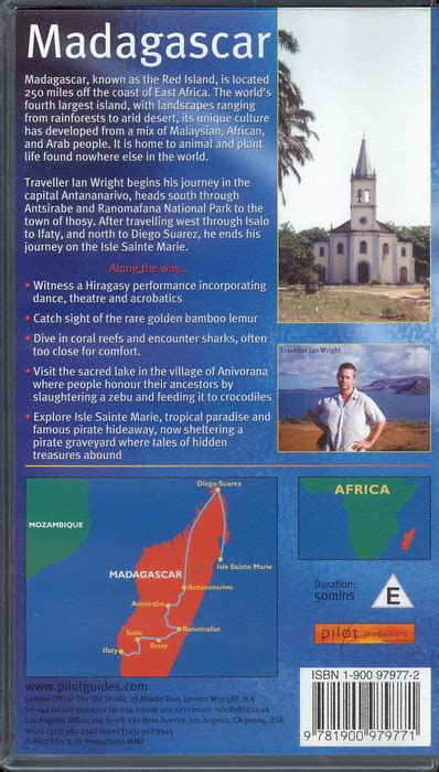 through western madagascar in quest of the golden bean classic reprint books the pilot guide to madagascar 1900979772 9781900979771