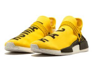 Pharell Williams X Adidas Nmd Human Race Unisexo Zapatos Para Correr Negro Blanco Zapatos P 692 by Pharrell Williams X Adidas Quot Human Race Quot Nmd Unisex Yellow