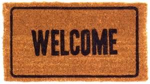 welcome mat welcome doormats shells doormats thick coir mats colorful basic coco mats n more