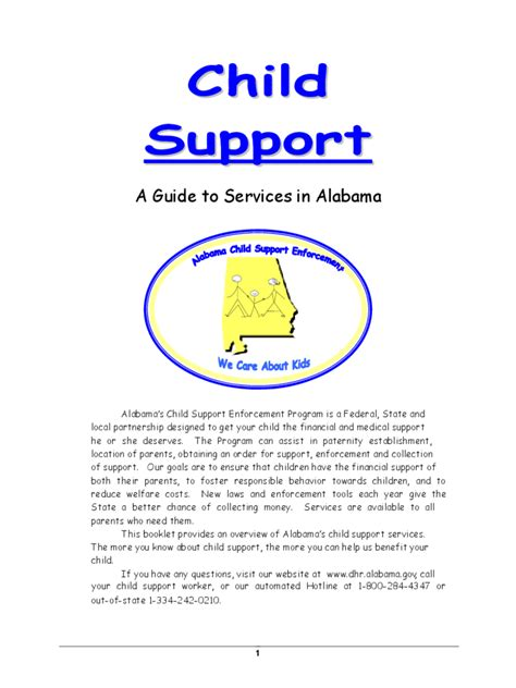 voluntary child support agreement form 2 free templates