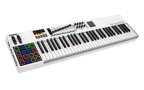 Keyboard M Audio m audio code 61 midi keyboard