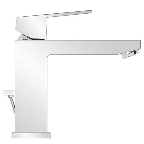 grohe eurocube bathroom faucet grohe eurocube 23445000 faucet