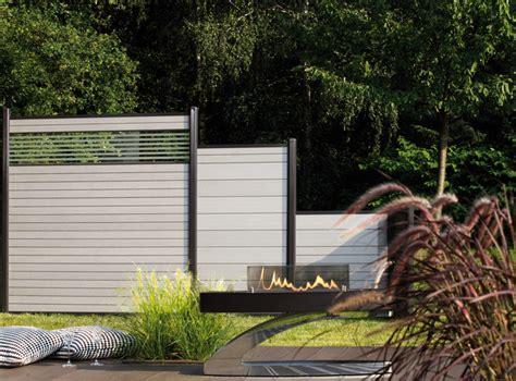 Garten Gestalten Wpc by System Wpc Grau Mit Glas Quot Delta Quot