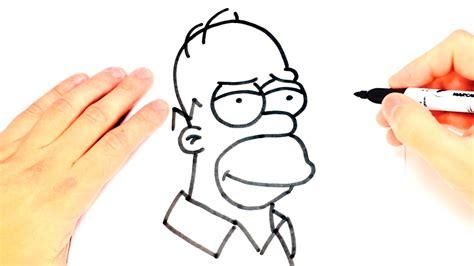imagenes de ojos faciles para dibujar como dibujar a homero simpson paso a paso dibujo facil