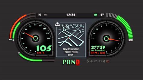 car dashboard animated car dashboard