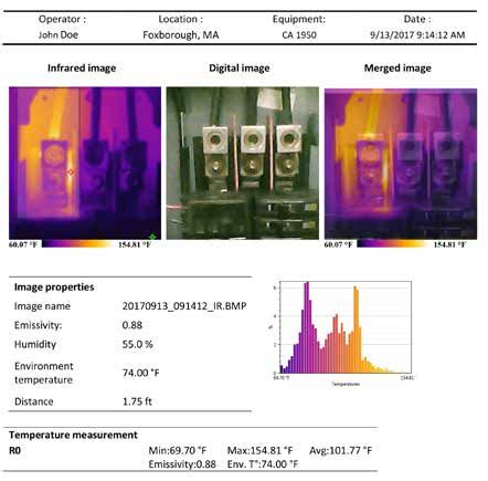 thermal imaging report template aemc 1950 2121 40 9 hz 80x80 thermal imaging infrared