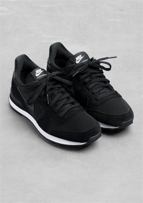 black nike shoes nike internationalist black nike sneakers running